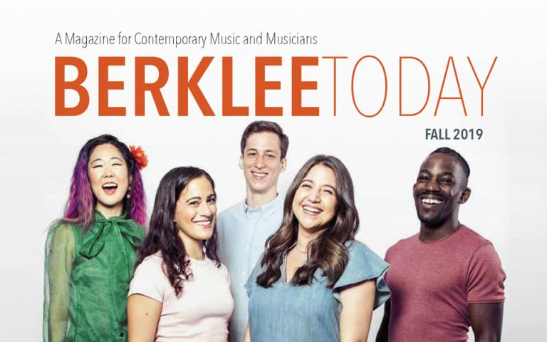 Cover of the Fall 2019 Berklee Today issue