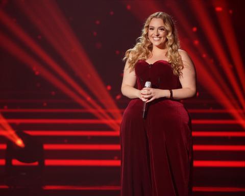 Grace Kinstler on 2021 American Idol