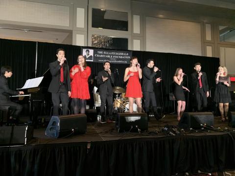 Berklee vocal jazz ensemble