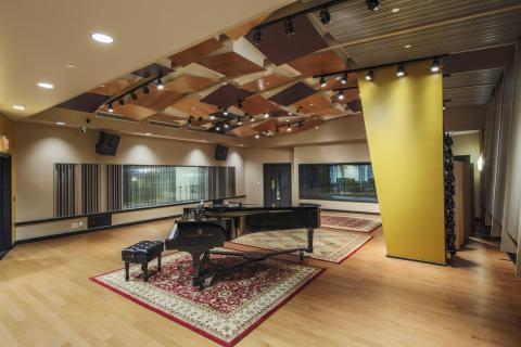 Studio used by MP&E students